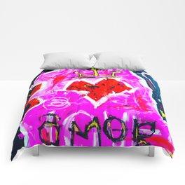 Love Amor Comforters