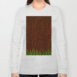 Ancient egyptian graffiti ... Long Sleeve T-shirt