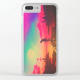 Emotive Sky Clear iPhone Case