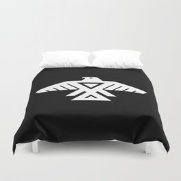 Thunderbird flag - HD image inverse Duvet Cover