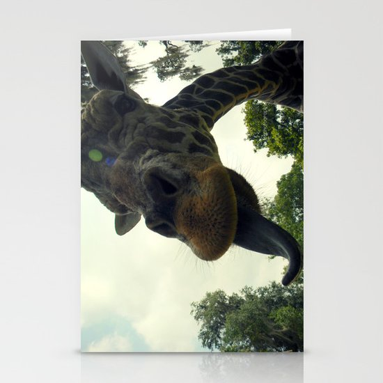 Giraffes are Silly. Stationery Cards