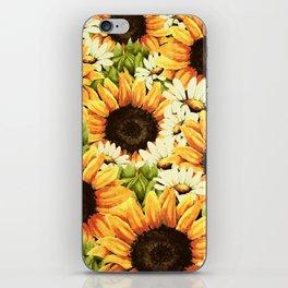 Summer Garden (Sunflower Sunshine) iPhone Skin