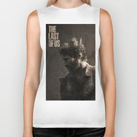 last of us Biker Tanks featuring The Last Of Us by MCMLXXXV DESIGN