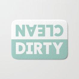 Clean / Dirty Bath Mat