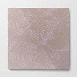 Waves no.03 Metal Print