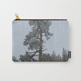 Ponderosa Pine In The Mist Carry-All Pouch