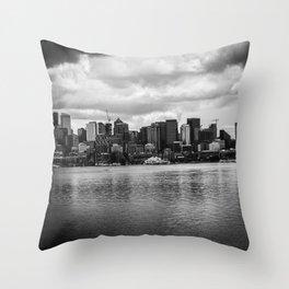 Skyline Throw Pillow