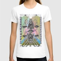 libra T-shirts featuring LIBRA by Caroline Vitelli GOODIES