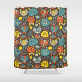 Hamsters Shower Curtain