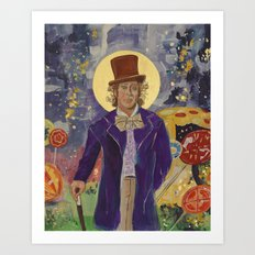 Gene Wilder Icon Art Print