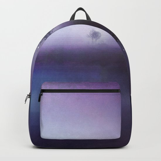 SOLITUDE IN TIME - PURPLE Backpack