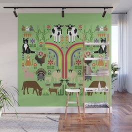 Noah's Farm Animals Wall Mural