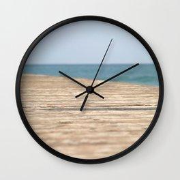 Beach Walk Wall Clock