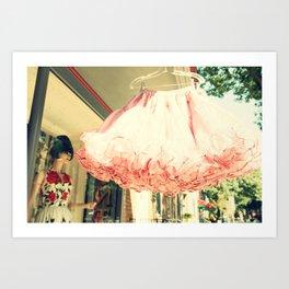 Crinoline Skirt  Art Print