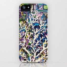 Sea Tree iPhone Case
