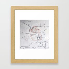 Where the Heart is Framed Art Print