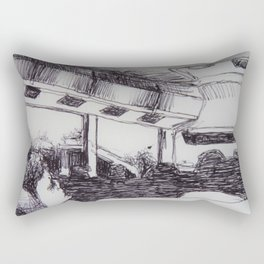 Bus to Chelsea NY Rectangular Pillow