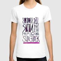 splatter T-shirts featuring Splatter by Matt Smiroldo