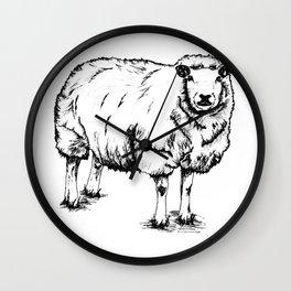Sheep Sheep. Wall Clock