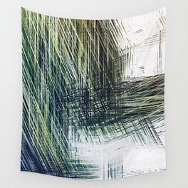 Planet Pixel Stairwell Wall Tapestry