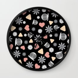 Lovely Pattern VII Wall Clock