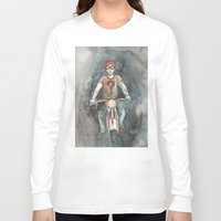 moto Long Sleeve T-shirts featuring Moto by Bluedogrose