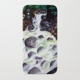 River along the Forest iPhone Case