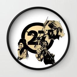 27 club Wall Clock