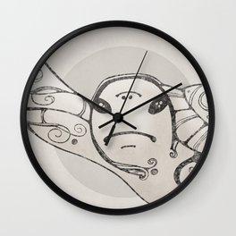 Judgemental Sea Turtle  Wall Clock