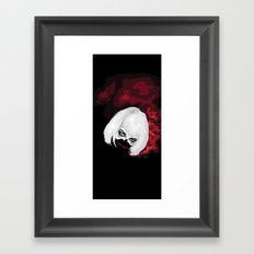 SMOKE BLOOD INK Framed Art Print