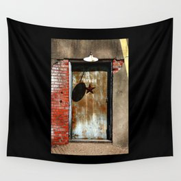 Your Future is Waiting... Just Open the Door. Wall Tapestry