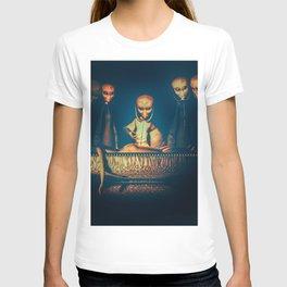 Alien Abduction Alien Autopsy T-shirt