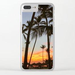 punta cana // the dominican republic Clear iPhone Case