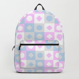 Pink versus Blue Backpack