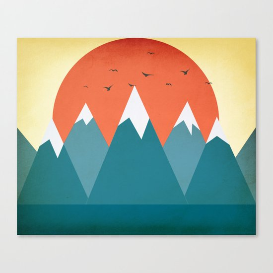 Today dusk Canvas Print