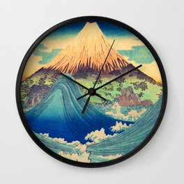 From the Eastern Borders with Love Wall Clock