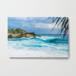 Cali Summer Metal Print