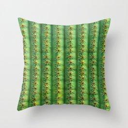 Cactus Mania Texture Throw Pillow