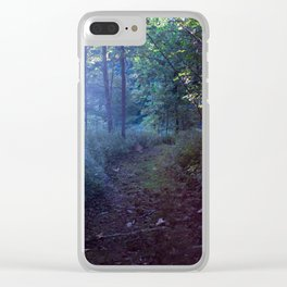 The Magic at Dusk Clear iPhone Case