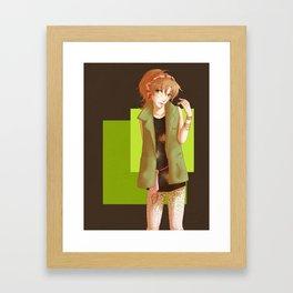 Makoto Framed Art Print