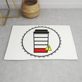 Coffee sticker, Rug