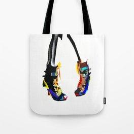 Colorful pop art shoes Tote Bag