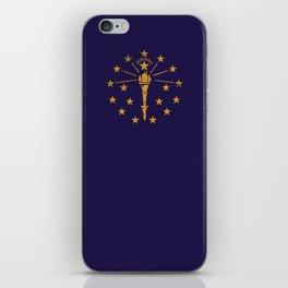 Indiana State Flag iPhone Skin