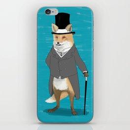 19th century fox iPhone Skin