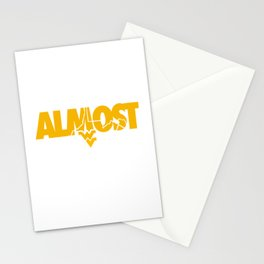 Almost Heaven West Virginia design Gift For Men or Women Stationery Cards
