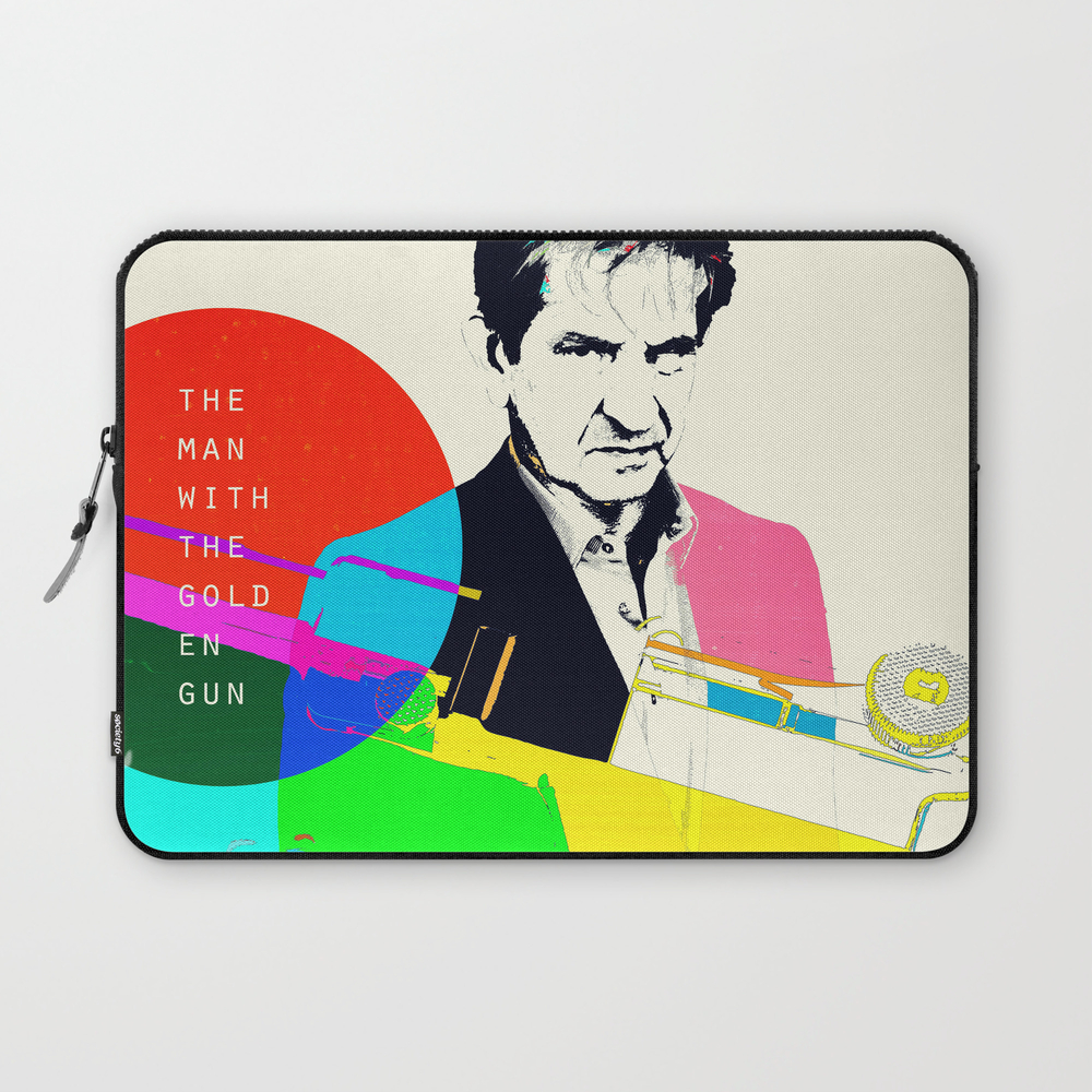 The Man With The Golden Gun Laptop Sleeve LSV873010