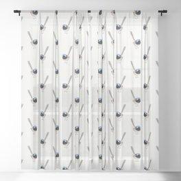 Fairy Wren Sheer Curtain