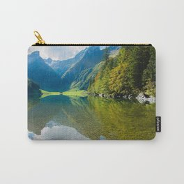 Seealpsee Lake Appenzell Alps Switzerland Carry-All Pouch