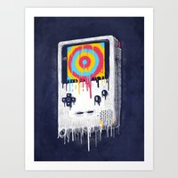 gaming Art Prints featuring Gaming by Ronan Lynam