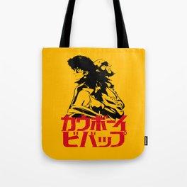 001 Cowboy Bebop Trio Tote Bag